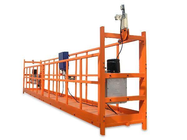 吊篮悬挂机构的安装、调整方法