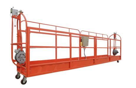 电动吊篮前支架的安装准备工作